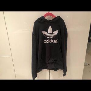 Black Adidas Logo Sweatshirt